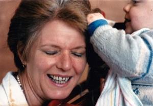 Mamie, j'te tire les cheveux